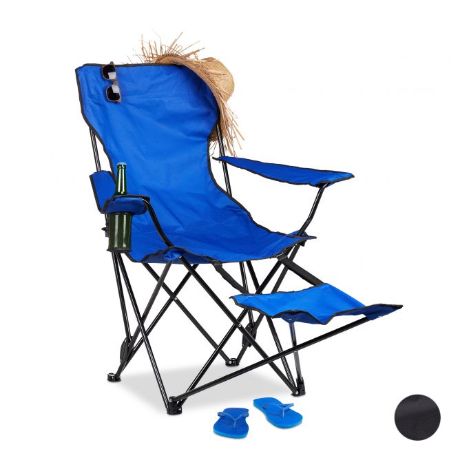 Camping Chair with Footrest2