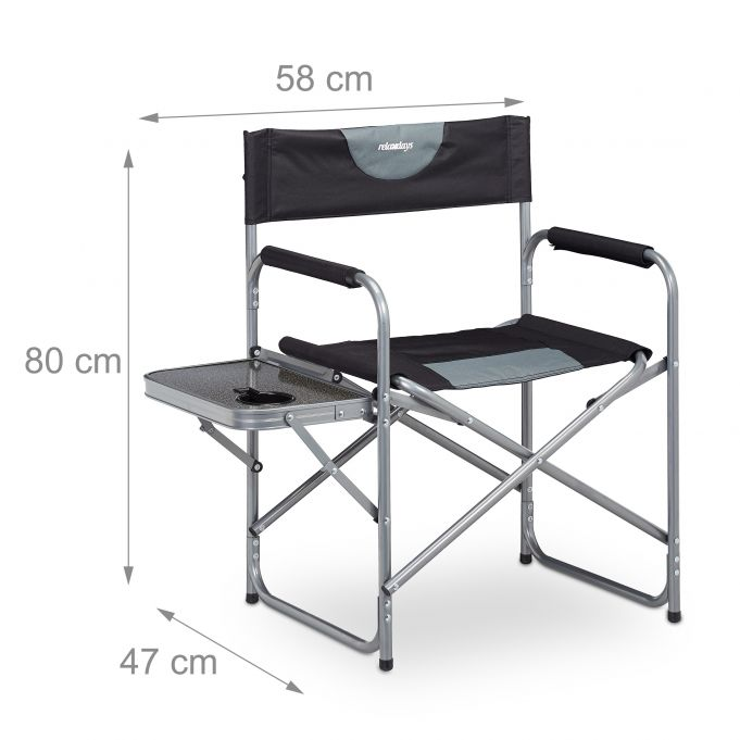 Sedia Regista Con Tavolino Pieghevole Acquista Qui