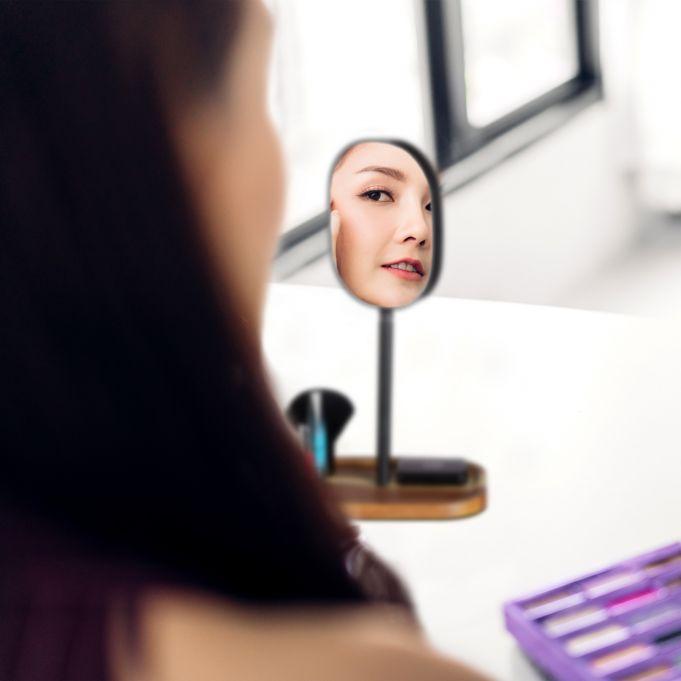 Stojące lusterko kosmetyczne do makijażu3