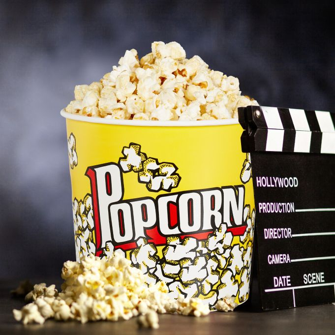 Seau pop-corn réutilisable lot de 62