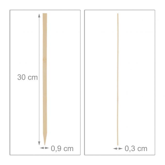 Schaschlikspieße Bambus 250er Set4