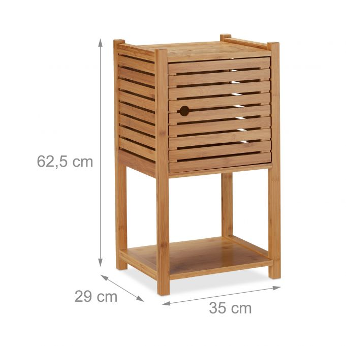 Bamboo Bathroom Cabinet4