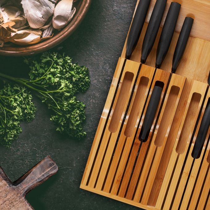 Bloque plano para 17 cuchillos de cocina3
