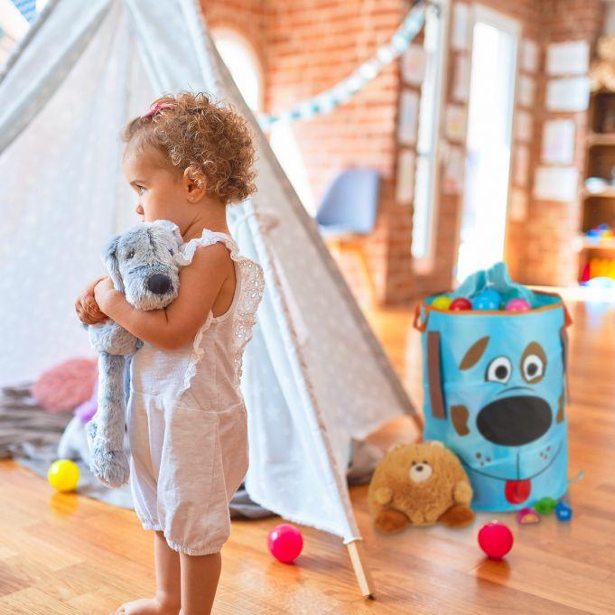 Pop-Up Wäschekorb für Kinder 3