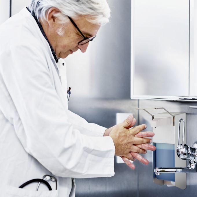 Dispenser sapone liquido a parete 1000ml3