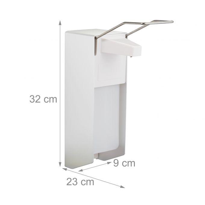 Dispenser sapone liquido a parete 1000ml4