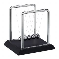 Newton Pendel Kugelstoßpendel Gesamtansicht