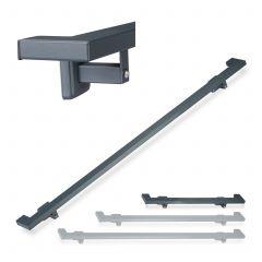 Angular Anthracite Handrail