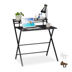 Foldable Desk With Shelf