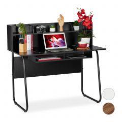 Skrivebord med opbevaringsrum