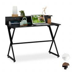 Skrivebord med opbevaringsrum / -hylde