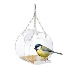 Mangiatoia per uccelli per la finestra