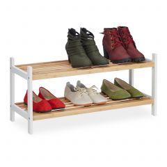 Etagère chaussures avec 2 niveaux