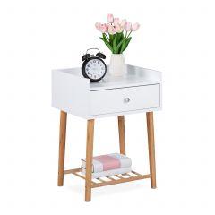 Table de nuit avec tiroir