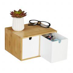 Organiseur de bureau 2 tiroirs