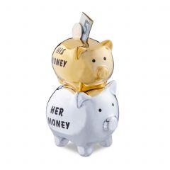 Świnka skarbonka His & Her Money