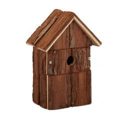Nichoir oiseau décoratif en bois