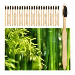 Bambus Zahnbürsten 24er Set