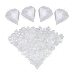 Kostki lodu do drinków diament 100 szt.