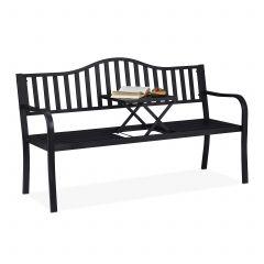 Tuinbank met tafeltje