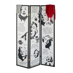 Paravent Marilyn Monroe