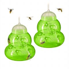 Wespenfalle 2er Set grün