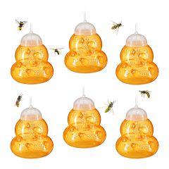 Wespenfalle 6er Set orange