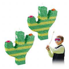 2 x Pinata Kaktus