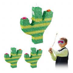 3 x Pinata Kaktus