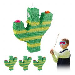 4 x Pinata Kaktus