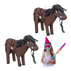 2 x Pinata Pferd