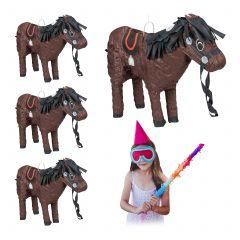 4 x Pinata Pferd