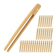 32 x Bambuszange klein